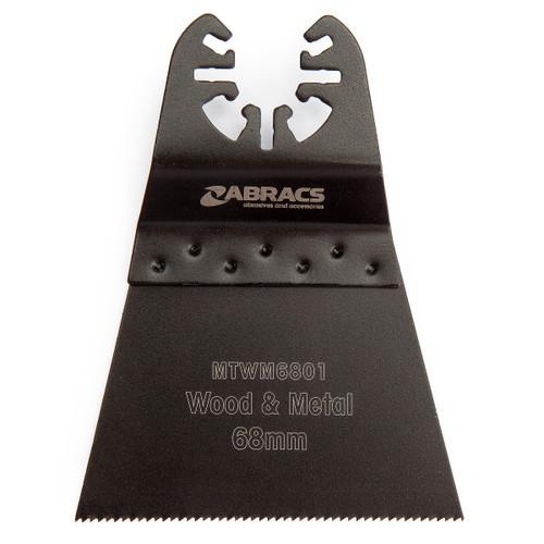 Abracs MTWM6801 Pro Multi Tool Blade for Wood & Metal 68mm