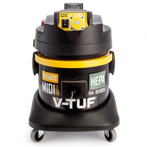 V-TUF MIDISYNCRO H-Class Dust Extractor + Wet & Dry Vacuum 110V