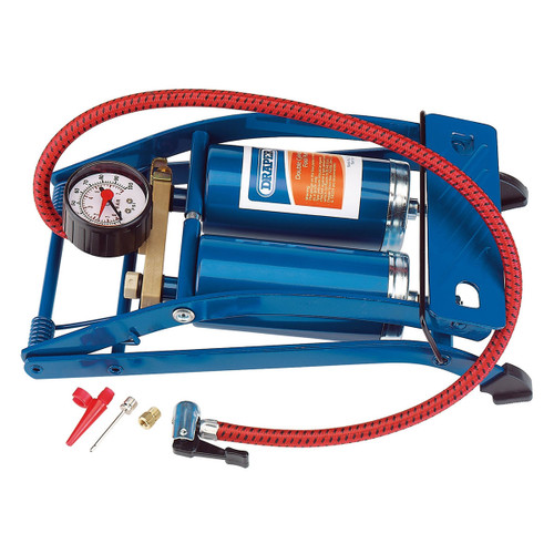 Draper 25996 Double Cylinder Foot Pump