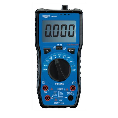 Draper 92433 Auto & Manual Ranging Digital Multimeter