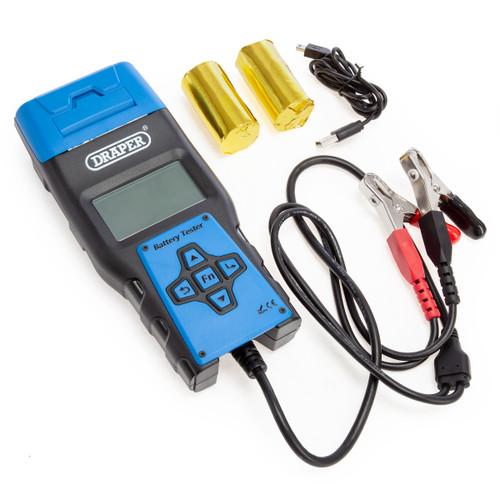 Draper 92445 Battery Tester With Printer