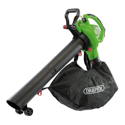 Draper 93165 3-in-1 Electric Blower, Vacuum & Mulcher