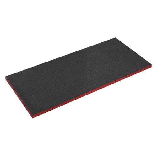 Sealey SF30R Easy Peel Shadow Foam Red/Black - 1200 x 550 x 30mm