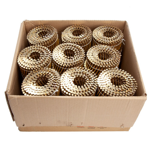 Senco BL21AABF Galvanised Collated Coil Nails 2.5mm x 50mm (9900 in Box)
