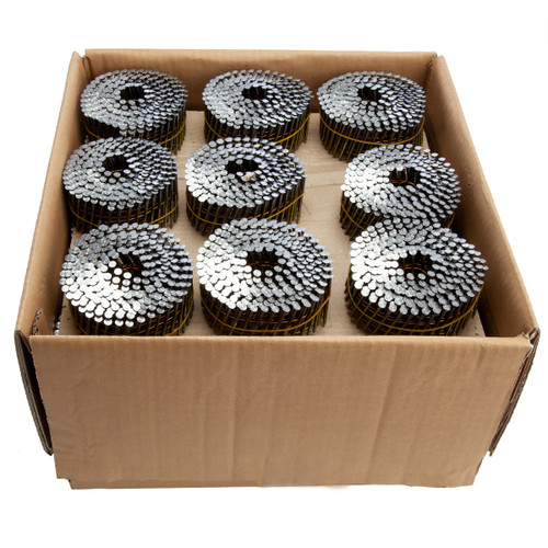Senco PA-BL25APBF Galvanised Collated Coil Nails 2.5mm x 65mm (7425 in Box)