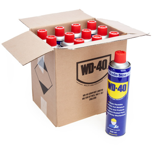 WD40 Multi-Use Lubricant Trade Size (44116) 600ml (Pack Of 12) 2