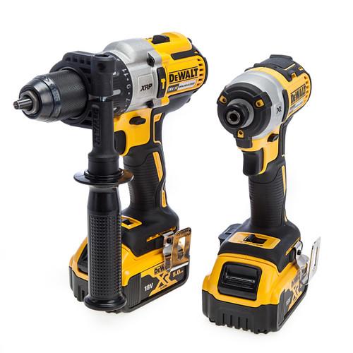 Dewalt 18V XR Combi Drill & Impact Driver Twin Pack 1