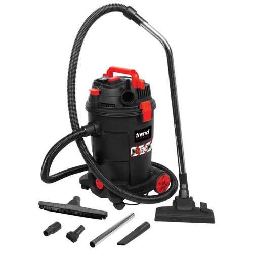 Trend T33A M Class Dust Extractor / Wet & Dry Vacuum Cleaner 25L (240V)