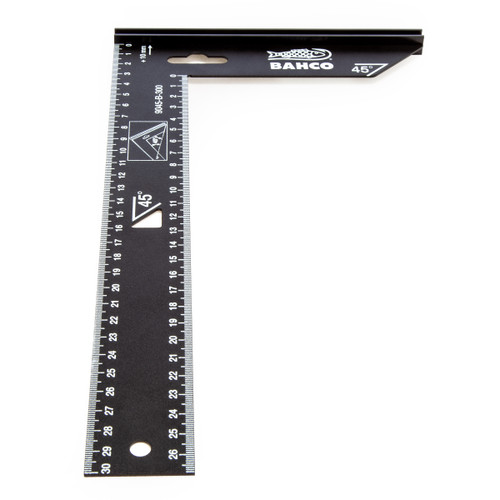 Bahco 9045-B-300 Carpenter Square with Steel Blade 300mm