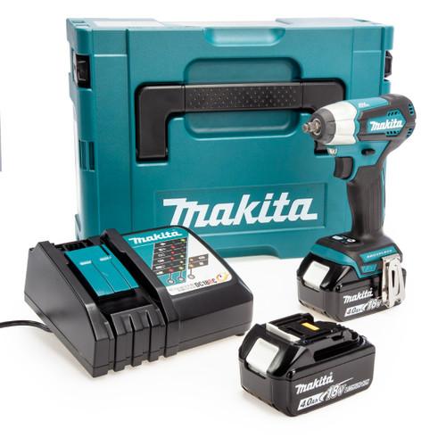 Makita DTW180RMJ 18V LXT Impact Wrench (2 x 4.0Ah Batteries)