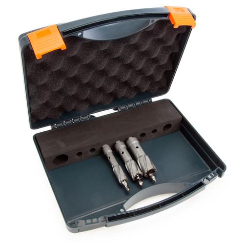 HMT 101030 Holecutter Set in Case (3 Piece)