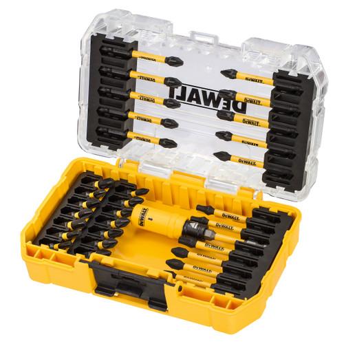 Dewalt DT70737T FLEXTORQ Screwdriver Bit Set in Connectable Case (31 Piece)