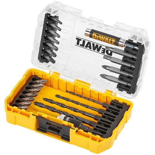 Dewalt DT70708 Drill and Screwdriver Bit Set in Connectable Case (25 Piece)