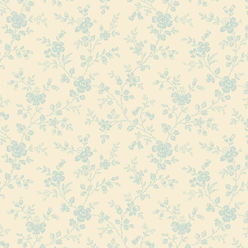 Forget Me Not in Little Creek - Bluebird by Laundry Basket Quilts