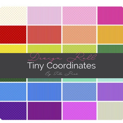 Pre-Order - 42 Piece Design Roll  - True Colors- Tula Pink