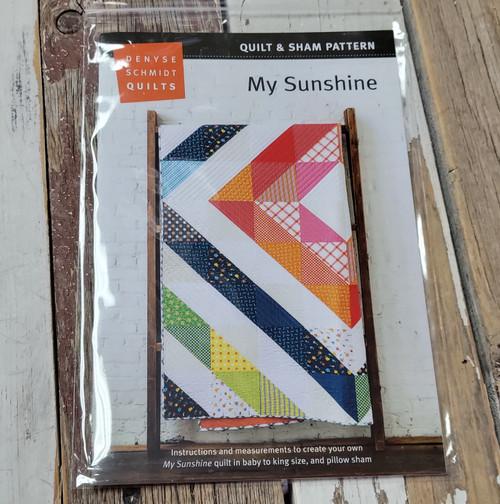 My Sunshine Quilt Pattern - Denyse Schmidt