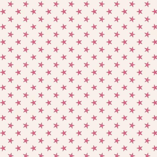 Tilda Classic Basic Tiny Star Pink available via Yardage 100% Premium Quilting Cotton