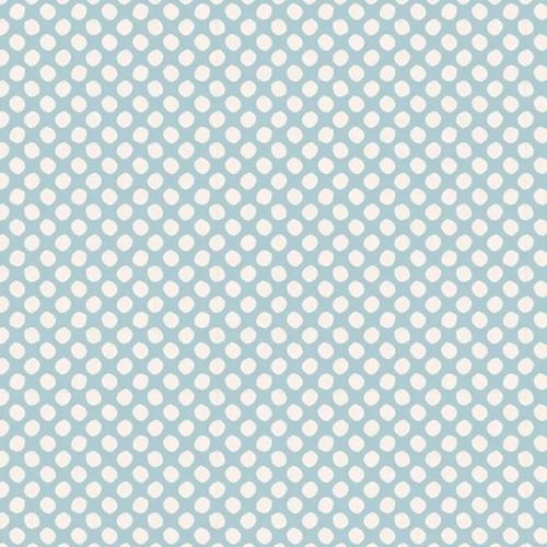 Tilda Classic Basic Paint Dots Light Blue available via Yardage 100% Premium Quilting Cotton