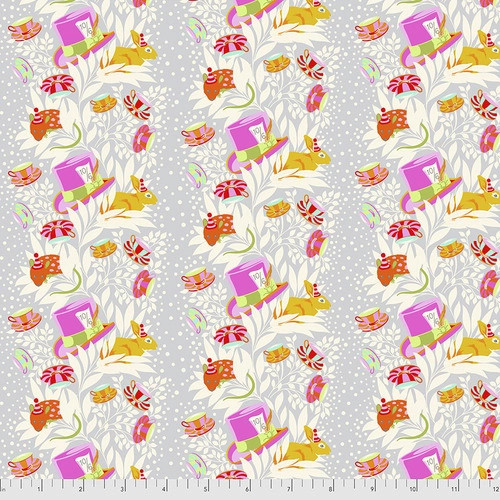 6PM Somewhere in Wonder from Curiouser and Curiouser by Tula Pink for Free Spirit Fabrics. 100% Premium Quilting Cotton.