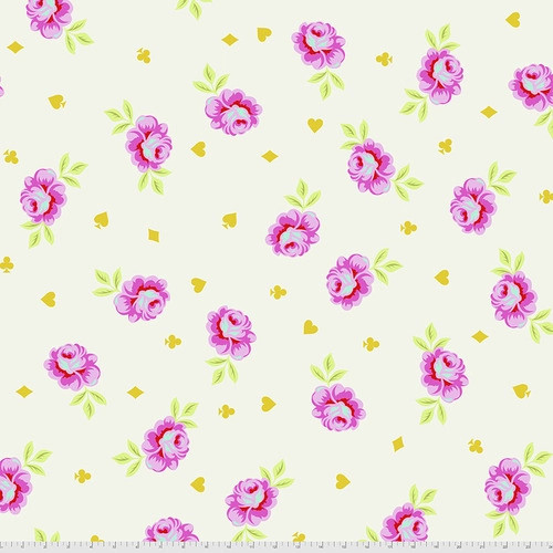 WIDEBACK Big Buds in Wonder from Curiouser and Curiouser by Tula Pink for Free Spirit Fabrics. 100% Premium Quilting Cotton.