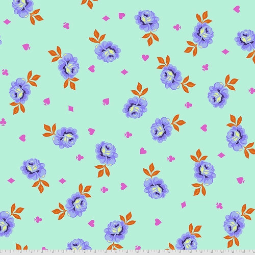 WIDEBACK Big Buds in Daydream from Curiouser and Curiouser by Tula Pink for Free Spirit Fabrics. 100% Premium Quilting Cotton.