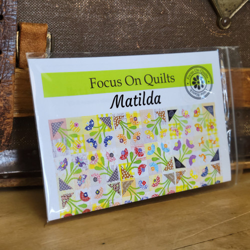 Matilda Scrappy Quilt Pattern from Focus on Quilts