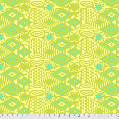 Lucy in Pineapple from Daydreamer by Tula Pink for Free Spirit Fabrics. 100% Premium Quilting Cotton.