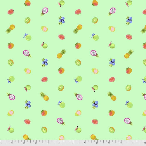 Forbidden Fruit Snacks Mojito from Daydreamer by Tula Pink for Free Spirit Fabrics. 100% Premium Quilting Cotton.