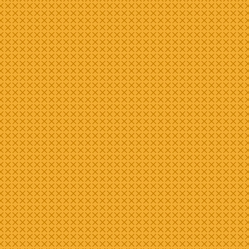 Cross Stitch in Mustard by Alison Glass 100% Quilting Cotton