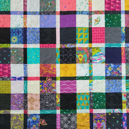 Pladdish Quilt Kit Featuring a Shop Curated Selection of Quilting Cotton