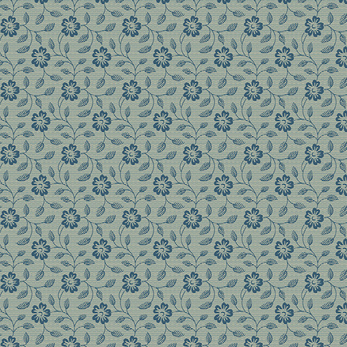 Morning Glory in Seaspray from Secret Stash's Warm Tones Collection by Laundry Basket Quilts for Andover Fabrics. 100% Premium Quilting Cotton.