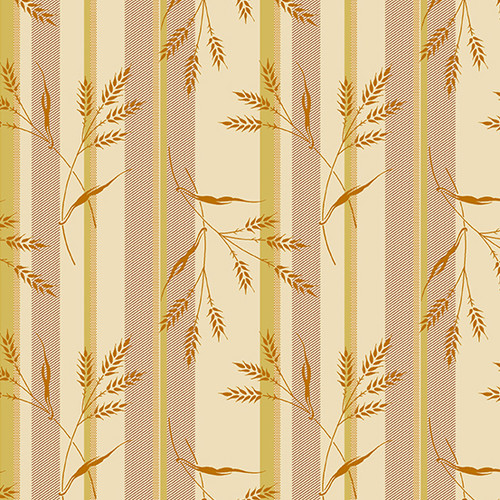 Wheat and Honey in Straw from Secret Stash's Earth Tones Collection by Laundry Basket Quilts for Andover Fabrics. 100% Premium Quilting Cotton.