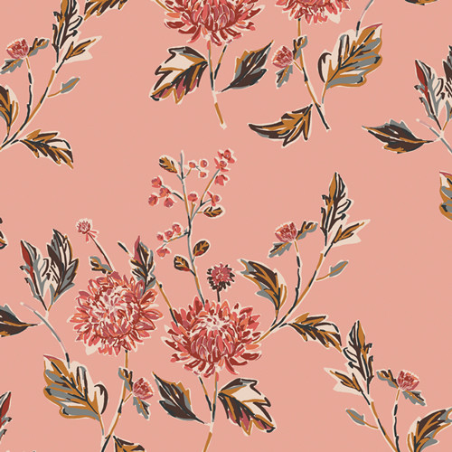 Cut Flowers Favor from the Kismet Collection for Art Gallery Fabrics.