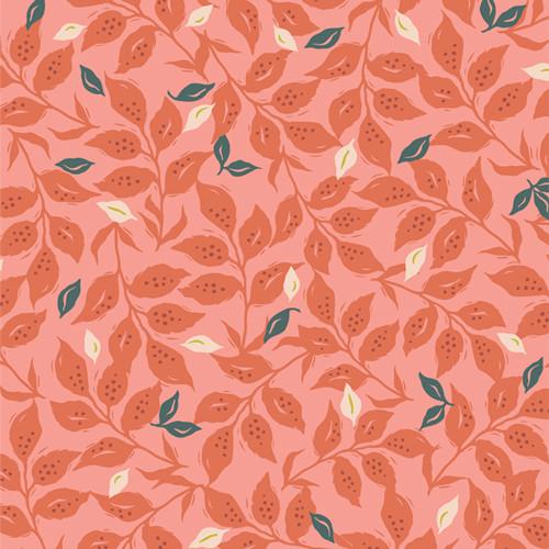Woodcut Sunset for Velvet Collection for Art Gallery Fabrics.