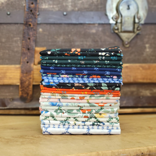 18 piece Fat Quarter Bundle from Strawberry Fields for Rifle Paper Co.