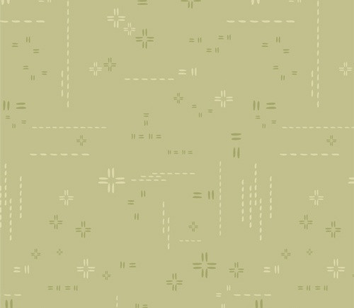 Subtle Sage from DecoStitch Elements for Art Gallery Fabrics.