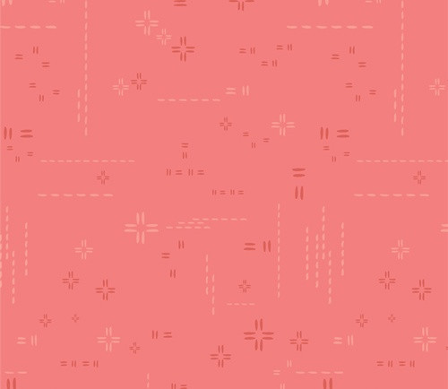 Coral Rose from DecoStitch Elements for Art Gallery Fabrics.
