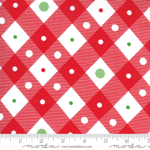 Plaid in Red from Merry & Bright for Moda Fabrics