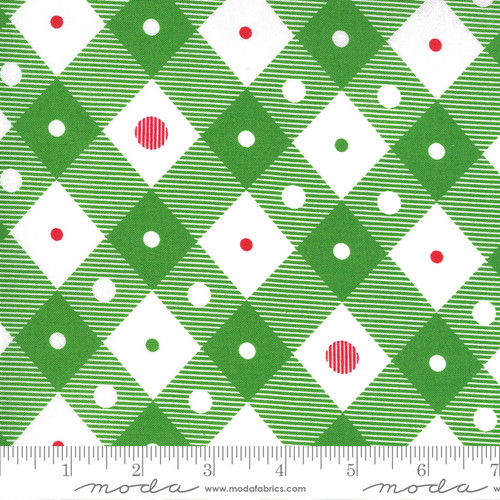 Plaid in Green from Merry & Bright for Moda Fabrics
