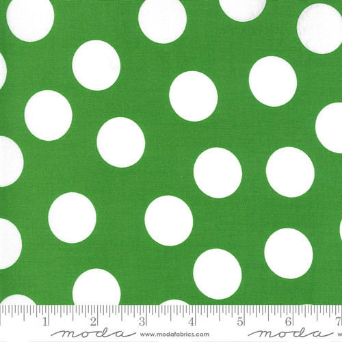 Dots in Green from Merry & Bright for Moda Fabrics