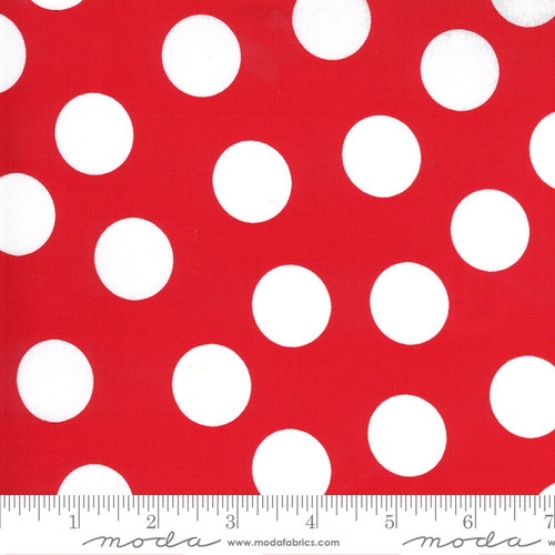 Dots in Red from Merry & Bright for Moda Fabrics