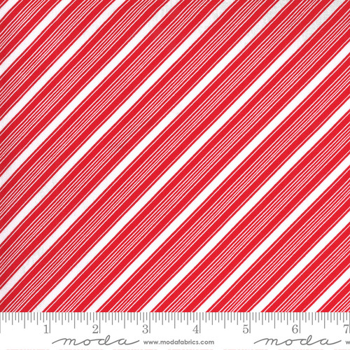 Stripes in Red from Merry & Bright for Moda Fabrics