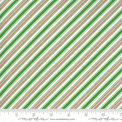 Stripes in Green from Merry & Bright for Moda Fabrics