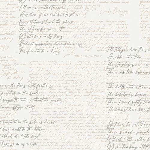 Soften the Volume Poetic Manuscripts from Art Gallery Fabrics Capsules