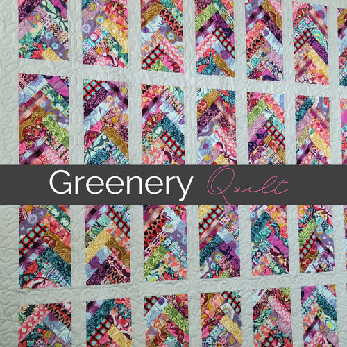 greenery quilt