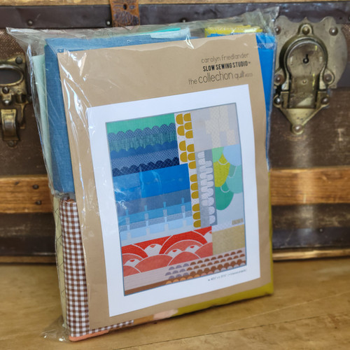 The Collection Quilt Kit Designed by Carolyn Friedlander