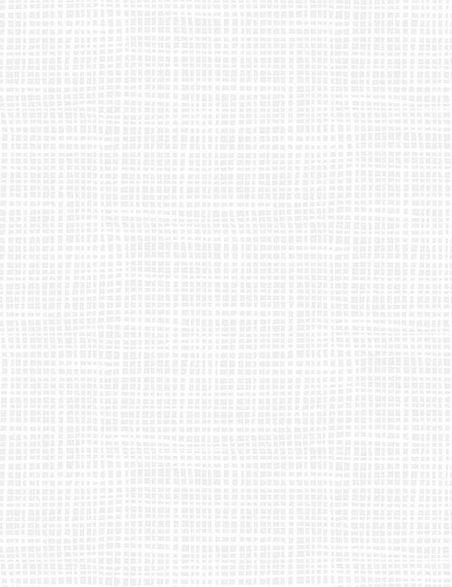 Crosshatch in white
