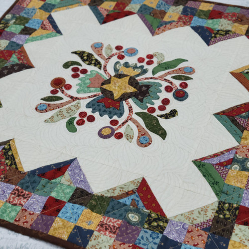 Cotton Blossoms Shop Curated Bundle Wall Hanging from Simple Sampler Book