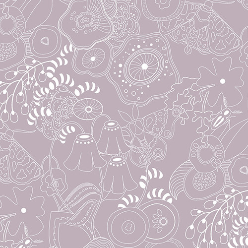 Grow in Whisper by Alison Glass for Andover Fabrics.