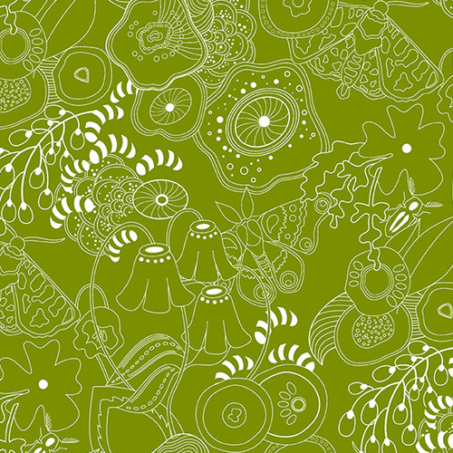 Grow in gaucamole by Alison Glass for Andover Fabrics.